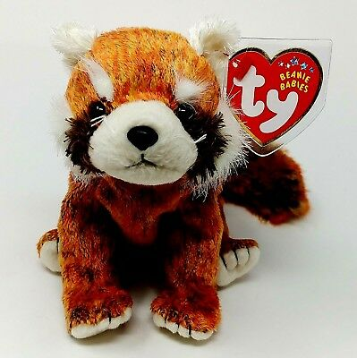 b03856c600a Ty Beanie Baby RUSTY the Red Panda (5.5 Inch) MWMTs Hang Tush Doll Retired