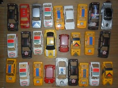 Scalextric lot of saloon / Le Mans car shells. No major damage as pictured.