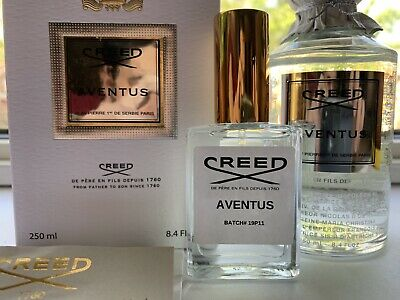 Creed Aventus 30ml/1oz Decant 19P11 EDP. Fresh From Flacon. Fast Delivery!