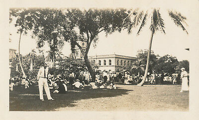 1933  Kam Day celebration Honolulu Hawaii Photo