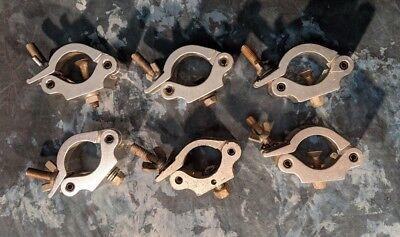 LOT OF 12 - Coupler Clamps - SWL 500KG - Global Truss - TUV - Unbranded - EXTRAS