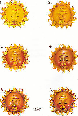 """""""Mr. Sunshine"""" Step by Step Worksheet by Carolyn L. Phillips"""