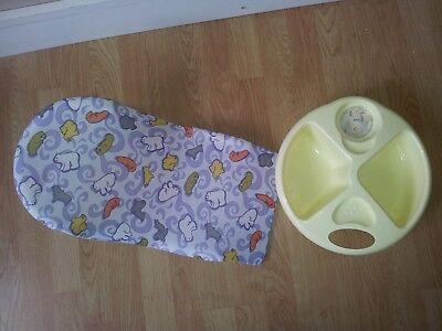 Baby Mothercare Top & Tail Bowl and Fabric Bath Support