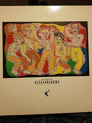 Frankie Goes To Hollywood ‎- Welcome To The Pleasuredome (1984) 2x Vinyl LP