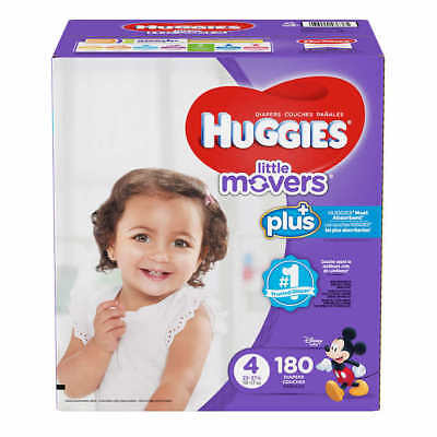 NEW Huggies Plus Diapers - Pick a Size 1 2 3 4 5 6     Free Shipping!