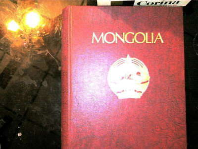 Mongolia Collection In Minkus Album, Both Mint An Used