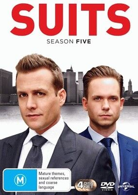 Suits: Season 5 = NEW DVD R4
