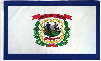 3x5 West Virginia Flag WV Banner State Pennant Indoor Outdoor 3 by 5 Foot New