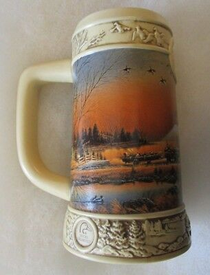 1997 Miller Ducks Unlimited Series ''welcome To Paradise'' Beer Stein