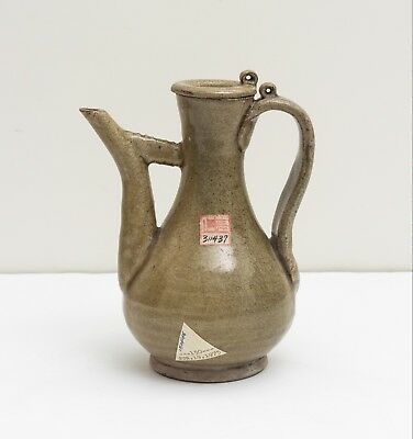 Chinese Antique/Vintage Celadon Ware Ewer With Cover