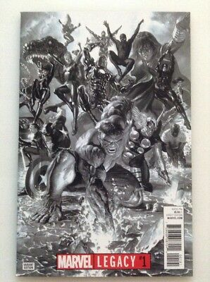 Marvel Legacy#1•nm•alex Ross Sketch•1:100 Variant Edition
