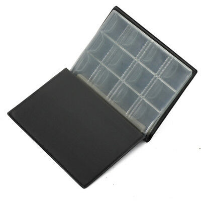 120 Coin Holder Storage Collecting Money Penny Pockets Album Book Binders Folder