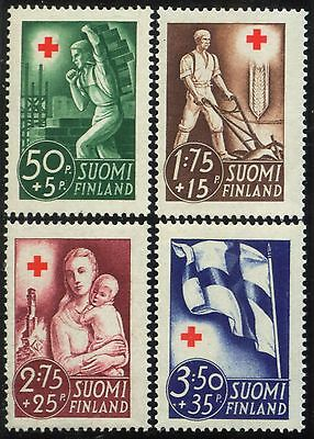 Finland - Scott # B44-47 - MINT NH Set - 1941