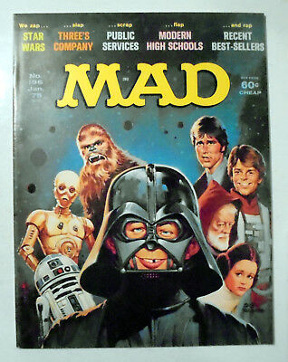 MAD Magazine #196 Star Wars Cover 1978 EX