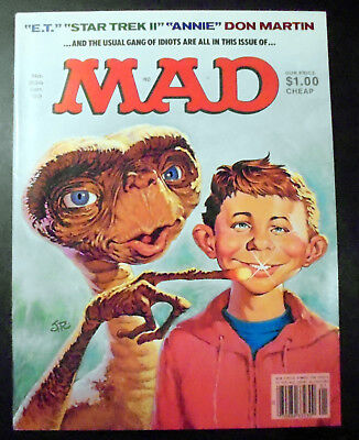 MAD Magazine #236 ET The Extraterrestial Cover 1983 EX
