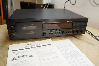 NAKAMICHI DR-1 Cassette Deck W/ Manual
