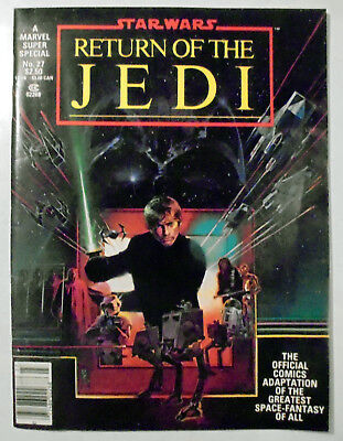 Marvel Super Special #27 Star Wars The Return of the Jedi Official Magazine