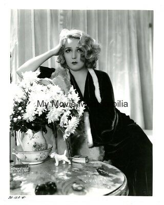 Rare Mary Pickford Vintage 1933 Hurrell Master Print Photograph Her Collection