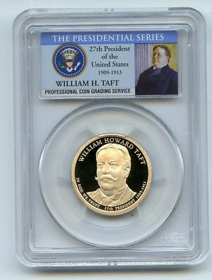 2013 S $1 William Howard Taft Dollar PCGS PR70DCAM