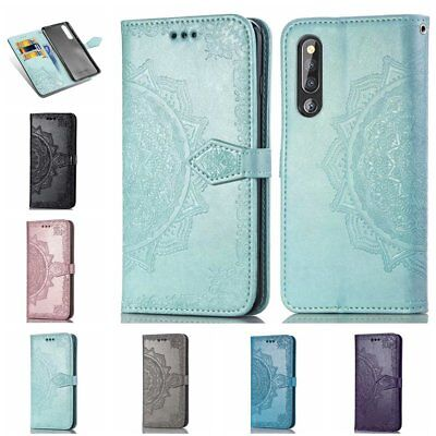 Mandala Wallet Flip Leather Case Cover For OPPO A3 A7 F5 F7 A5 A83 Samsung S9 TU