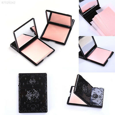 BE25 50pcs Portable Oil  control Oil absorbing sheets Blotting paper Flower