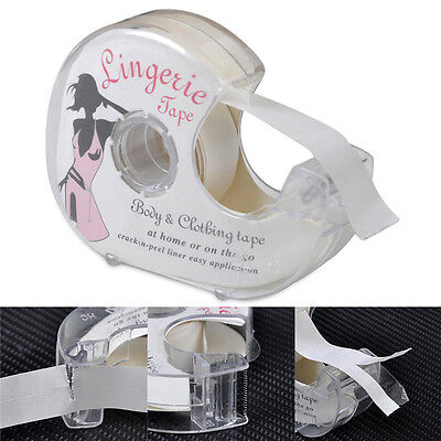 Double-Sided Lingerie Tape Adhesive Fit Clothing Dress Body Wedding Prom #A55