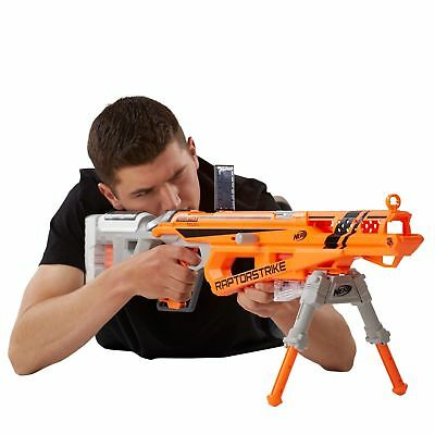 NERF N-Strike Elite AccuStrike RaptorStrike Kids Foam Toy Darts Gun Blaster New