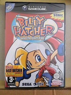 Billy Hatcher and the Giant Egg (Nintendo GameCube, 2003) Brand New Rare Game