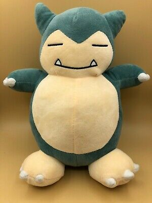 Pokemon Snorlax Plush Kids Soft Toy Doll Stuffed Animal Collectable Anime Bear