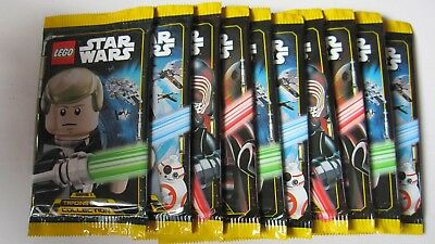 LEGO STAR WARS TRADING CARD COLLECTION , 25 Booster mit  je 5 Karten