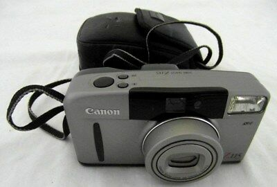 CANON - SURE SHOT Z115 - 35mm film point & shoot camera with original case. USED