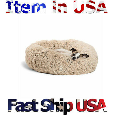 MidWest Deluxe Bolster Pet Bed for Dogs Cats - New -Fast shipping