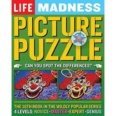 Life Madness Picture Puzzle - Paperback NEW Sullivan, Rober 2013-04-02