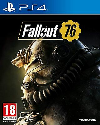 Fallout 76 Ps4 Playstation 4 Game - New And Unused