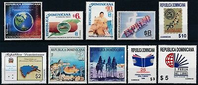[H16008] Dominican Rep. 1998-99 Good lot of stamps very fine MNH
