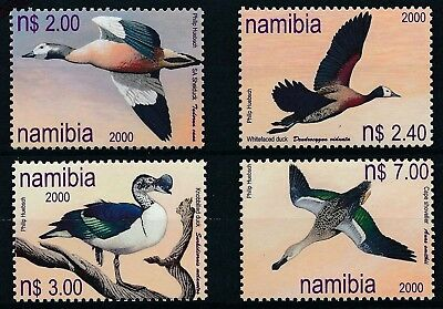 [H16224] Naimibia 2000 DUCKS - Birds - Fauna Good set of stamps very fine MNH
