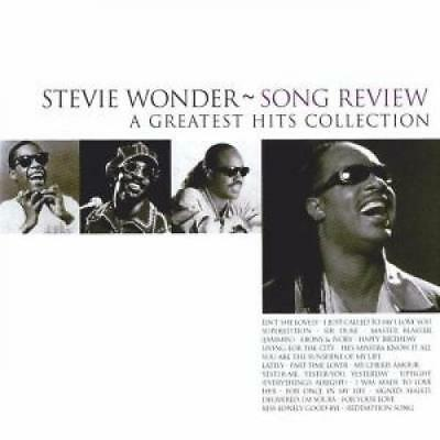 Wonder, Stevie: Song Review-A Greatest Hits Collection, CD