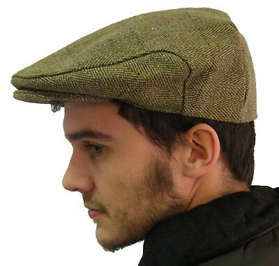 2845f173108b4 Campbell Cooper Tissé Tweed Chasse Pêche Country Wear Casquette Grand-Père
