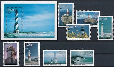 [H16557] Antigua & Barbuda 1998 Good lot set of stamps + sheet very fine MNH