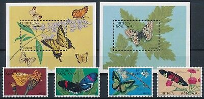 [H16566] Eritrea 1997 Good lot set of stamps + set of 2 sheets very fine MNH