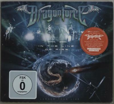 Dragonforce In The Line Of Fire (Larger Than Live) 2-disc CD/DVD set German