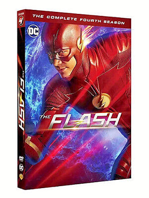 The Flash Season 4 [2018] Brand New sealed Quick Fast & Free Delivery