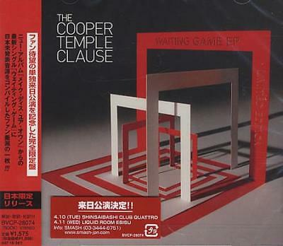 """Waiting Game EP Cooper Temple Clause CD single (CD5 / 5"""") Japanese BVCP-28074"""