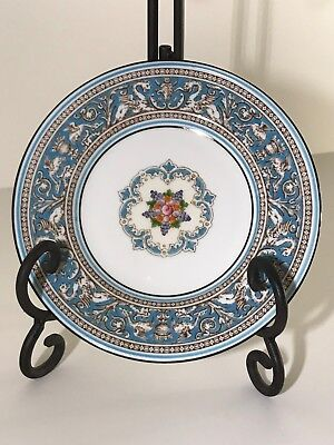 """Wedgwood Florentine Turquoise 6"""" Bread and Butter Plate W2714 (#1)"""