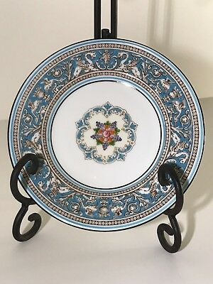 """Wedgwood Florentine Turquoise 6"""" Bread and Butter Plate W2714 (#10)"""
