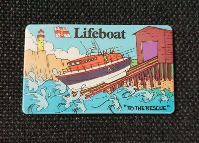 Lifeboat    To  The  Rescue        Fridge Magnet