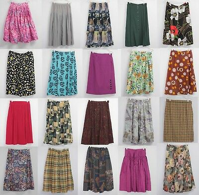 40 x SKIRTS Wholesale Joblot Vintage 60s 70s 80s 90s PHOTOS