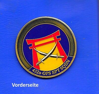 Us Airforce Fighter Wing Jagdgeschwader Challenge Coin Bronze Email Medaille