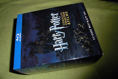 blu ray disc - 8 x HARRY POTTER in Pappbox (disk 1 - 6 + 7.1 + 7.2)