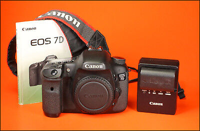Canon EOS 7D Digital SLR Camera,  Sold With Battery, Charger, Manual & Strap